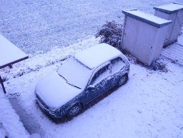 2月一番の寒さ