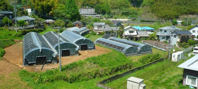 竹田名水農園、春に向けて準備着々